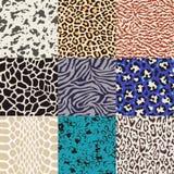 Seamless animal skin pattern Royalty Free Stock Photography
