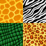 Seamless animal skin pattern Royalty Free Stock Image
