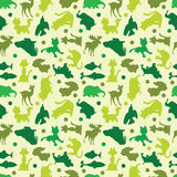 Seamless animals pattern Royalty Free Stock Image