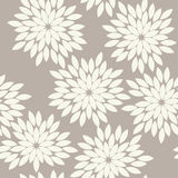 Seamless anthracite gray vintage japanese floral kimono tenugui textile pattern vector Royalty Free Stock Photography