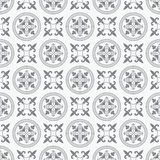 Seamless Antique Circle Pattern Stock Image