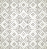 Seamless antique look wallpaper Royalty Free Stock Photography