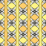 Seamless antique pattern ornament geometric art deco stylish bac Royalty Free Stock Photography