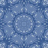 Seamless antique pattern ornament. Geometric background design Royalty Free Stock Photo