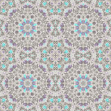 Seamless antique pattern ornament. Geometric background design Stock Photography