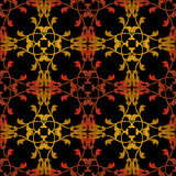 Seamless antique pattern ornament geometric background Stock Photos