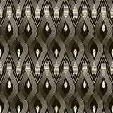 Seamless antique pattern ornament. Geometric stylish background. Royalty Free Stock Photo