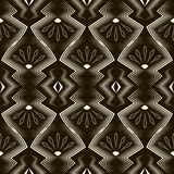 Seamless antique pattern ornament. Geometric stylish background. Royalty Free Stock Image