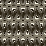 Seamless antique pattern ornament. Geometric stylish background. Stock Images