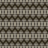 Seamless antique pattern ornament. Geometric stylish background. Stock Photo
