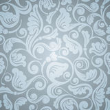Seamless antique wallpaper Stock Photo