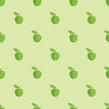 Seamless Apple Pattern Background Royalty Free Stock Photos