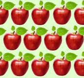 Seamless apples background Royalty Free Stock Photography