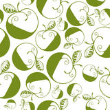 Seamless apples background. Royalty Free Stock Photography