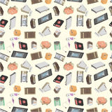 Seamless appliance pattern Royalty Free Stock Image