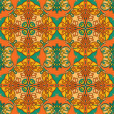 Seamless arabesque. Colorful geometric oriental seamless pattern Stock Photography