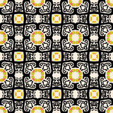 Seamless Arabesque Pattern Stock Photography
