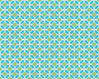 Seamless Arabesque Tile Background Stock Image