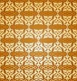 Seamless arabesque wallpaper Royalty Free Stock Photo