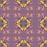 Seamless in arabian stile. For textile Stock Images