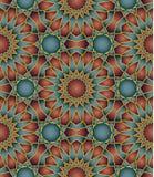 Seamless arabic background Royalty Free Stock Photos