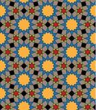 Seamless arabic background Royalty Free Stock Photo
