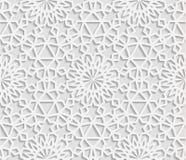 Seamless arabic geometric  pattern, east ornament, indian ornament, persian motif, . Royalty Free Stock Photos