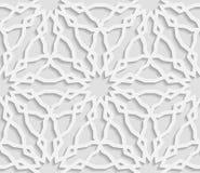 Seamless arabic geometric  pattern, east ornament, indian ornament, persian motif Stock Photos