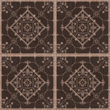 Seamless arabic grunge ornamental pattern on  background Royalty Free Stock Images