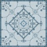 Seamless arabic grunge ornamental pattern on  background Stock Image