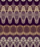 Seamless arabic laced pattern Royalty Free Stock Photography
