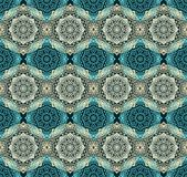 Seamless arabic laced pattern Royalty Free Stock Photos