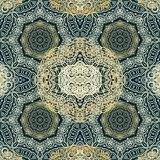 Seamless arabic laced pattern Stock Images