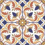 Seamless Arabic pattern Stock Photo