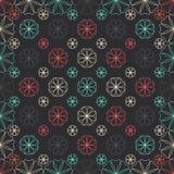 Seamless arabic pattern Stock Image