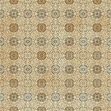 Seamless arabic pattern Royalty Free Stock Photography