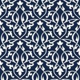 Seamless arabic pattern Royalty Free Stock Photo