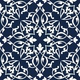 Seamless arabic pattern Royalty Free Stock Image