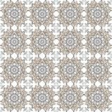 Seamless Arabic pattern pastel colors. Decorative ornament backdrop for fabric, textile, wrapping paper. N royalty free illustration