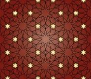 Seamless arabiskabakgrund Arkivfoton
