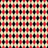 Seamless argyle fabric pattern background. Seamless casino or circus argyle fabric pattern background wallpaper Stock Illustration