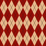 Seamless Argyle Pattern Stock Photo