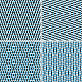 Seamless argyle pattern. Composed of dots. Vector Royalty Free Stock Images