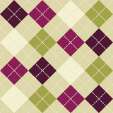 Seamless argyle pattern Stock Image