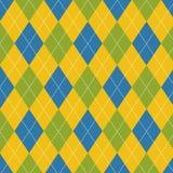 Seamless argyle pattern. Stock Image