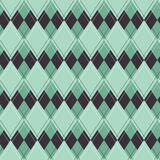 Seamless argyle pattern. Royalty Free Stock Photos