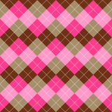 Seamless argyle pattern. Diamond shapes background. Vector Royalty Free Stock Photos
