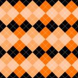 Seamless argyle pattern Stock Photography