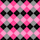 Seamless argyle pattern Royalty Free Stock Photos