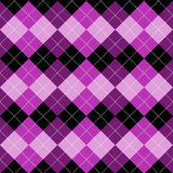 Seamless argyle pattern. Diamond shapes background. Vector Stock Images